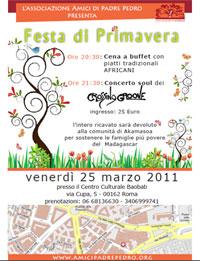 Festa di Primavera per il Madagascar