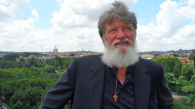Padre Pedro a Roma - giugno 2011